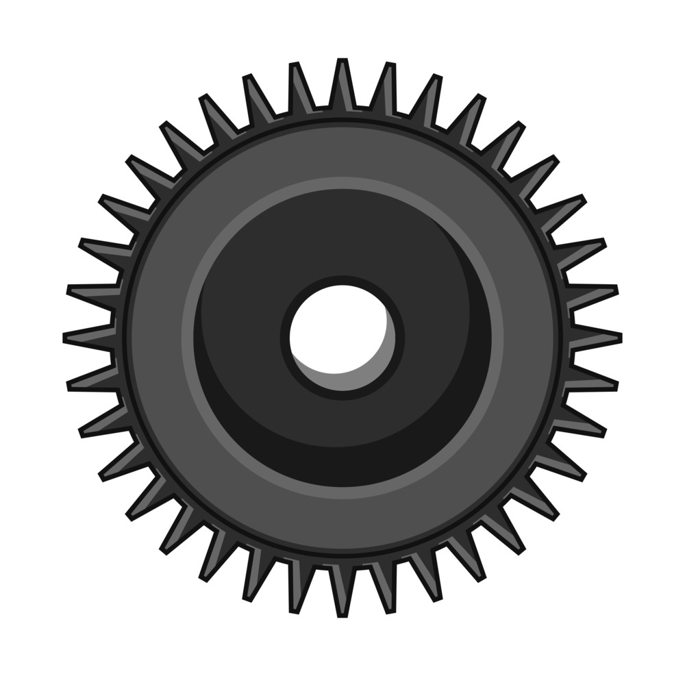 Retro Gear Wheel