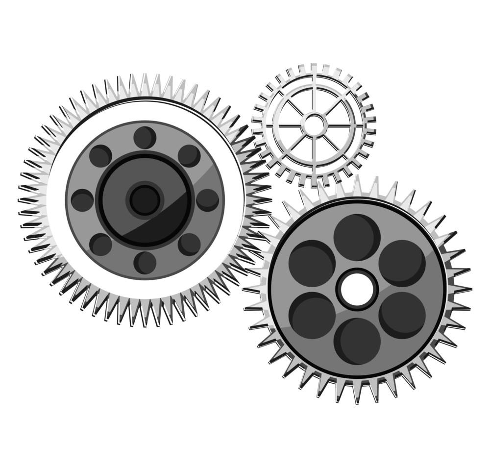 Retro Gears Wheels