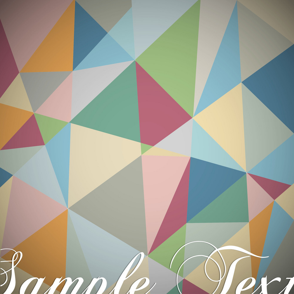 Retro Geometric Background