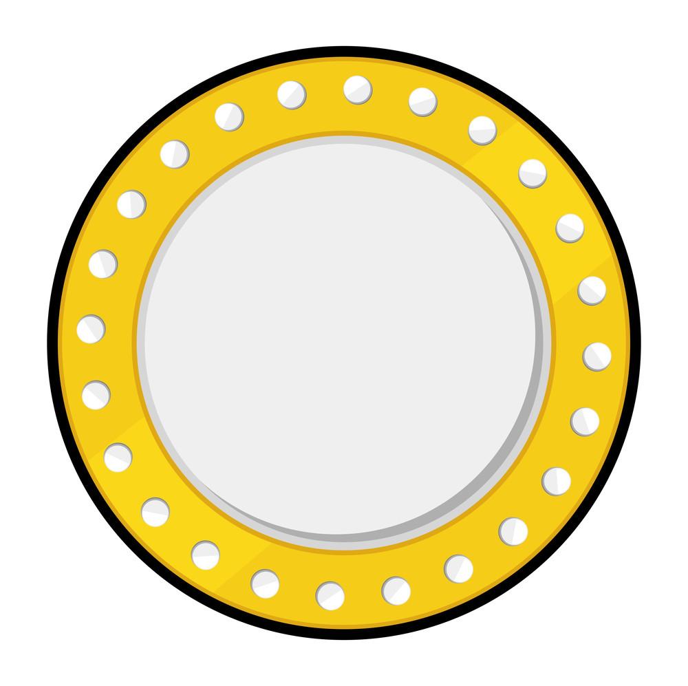 Retro Gold Coin