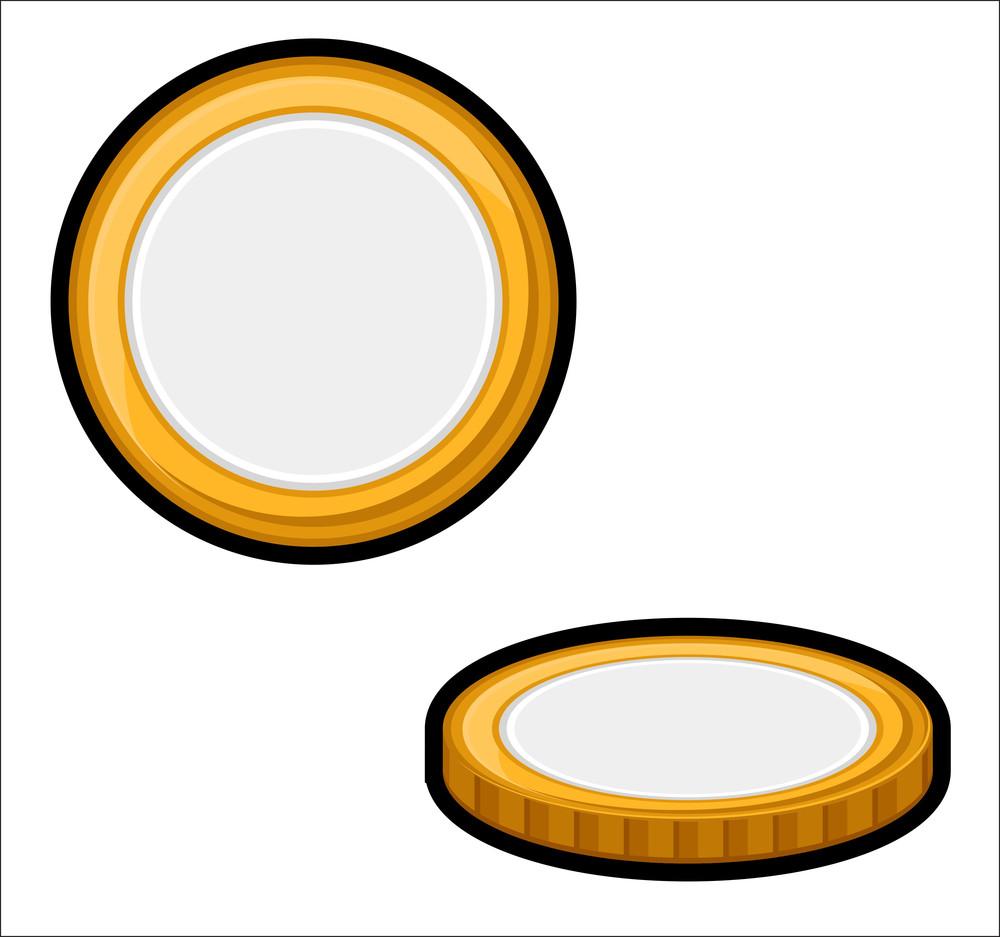 Retro Gold Coins