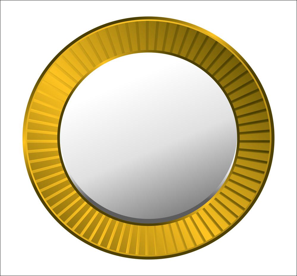 Retro Golden Coin
