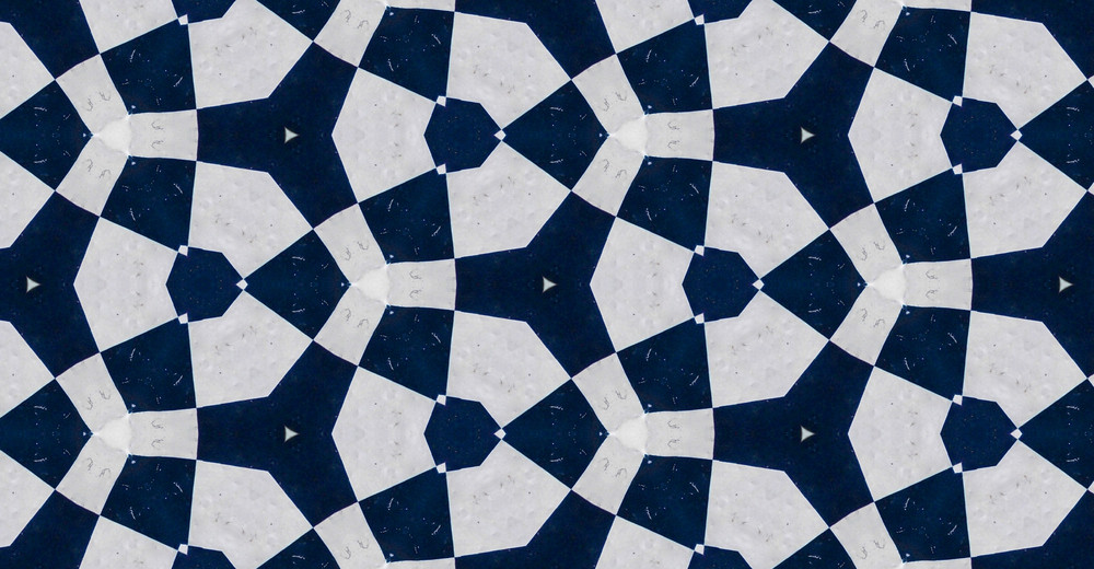Retro Graphic Pattern Tile