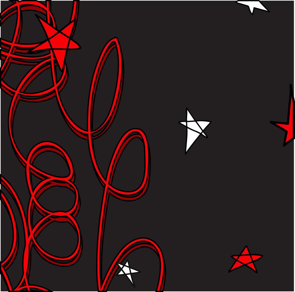 Retro Graphic Stars Background