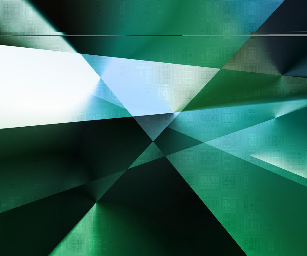 Retro Green Background Texture