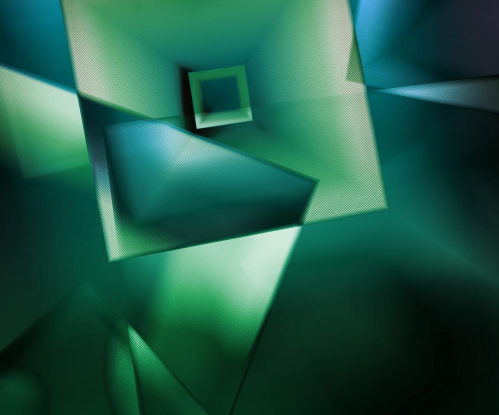 Retro Green Background