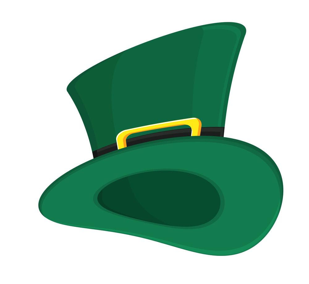 Retro Green Leprechaun Hat