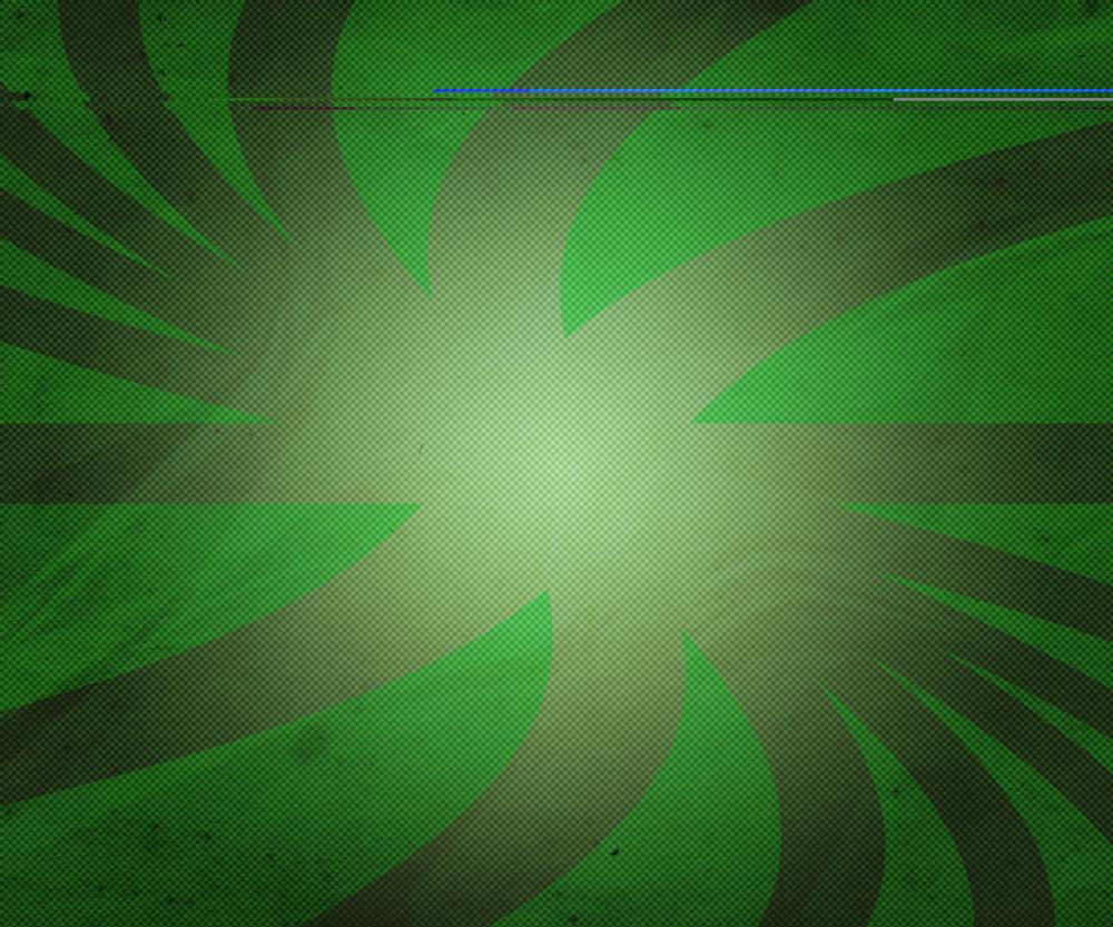 Retro Green Rays Texture