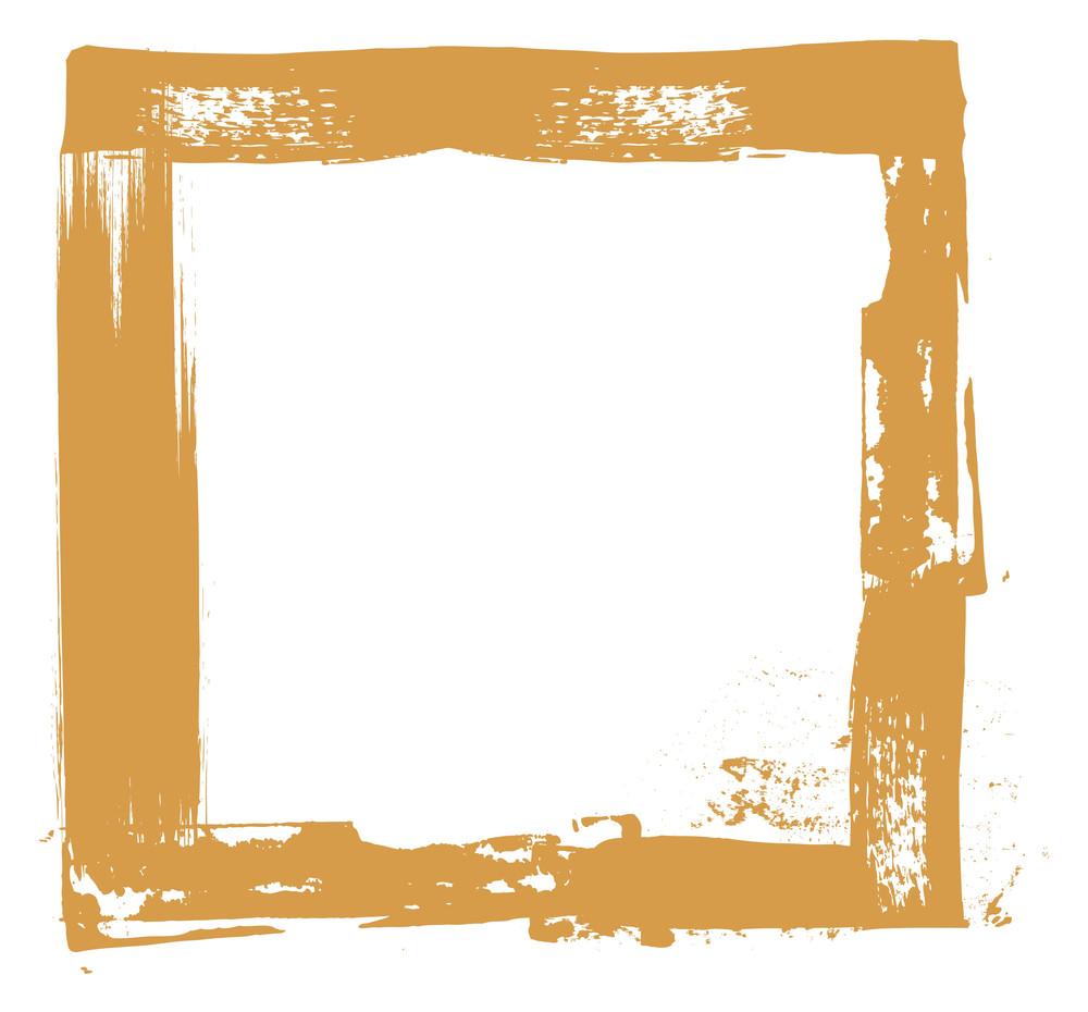 Retro Grunge Frame Design