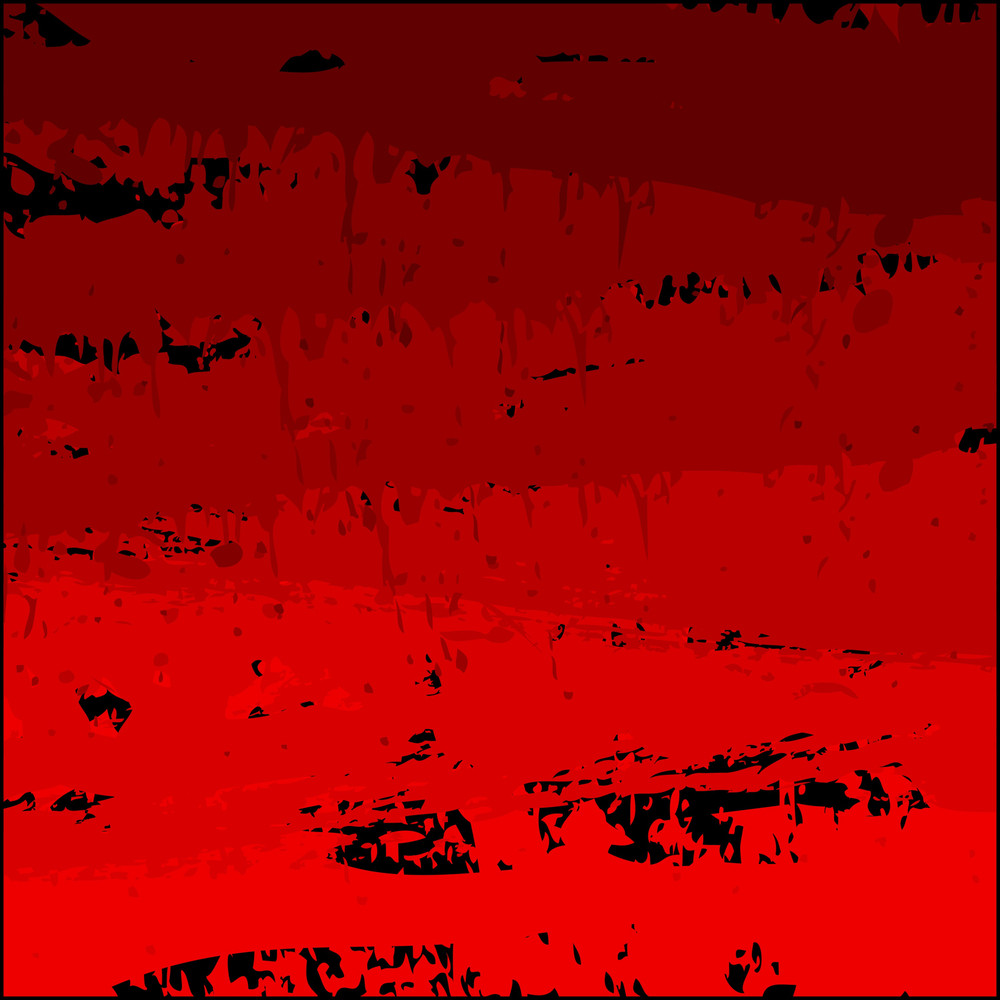 Retro Grunge Red Abstract Background