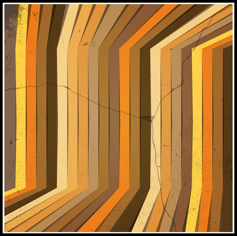 Retro Grunge Striped Background