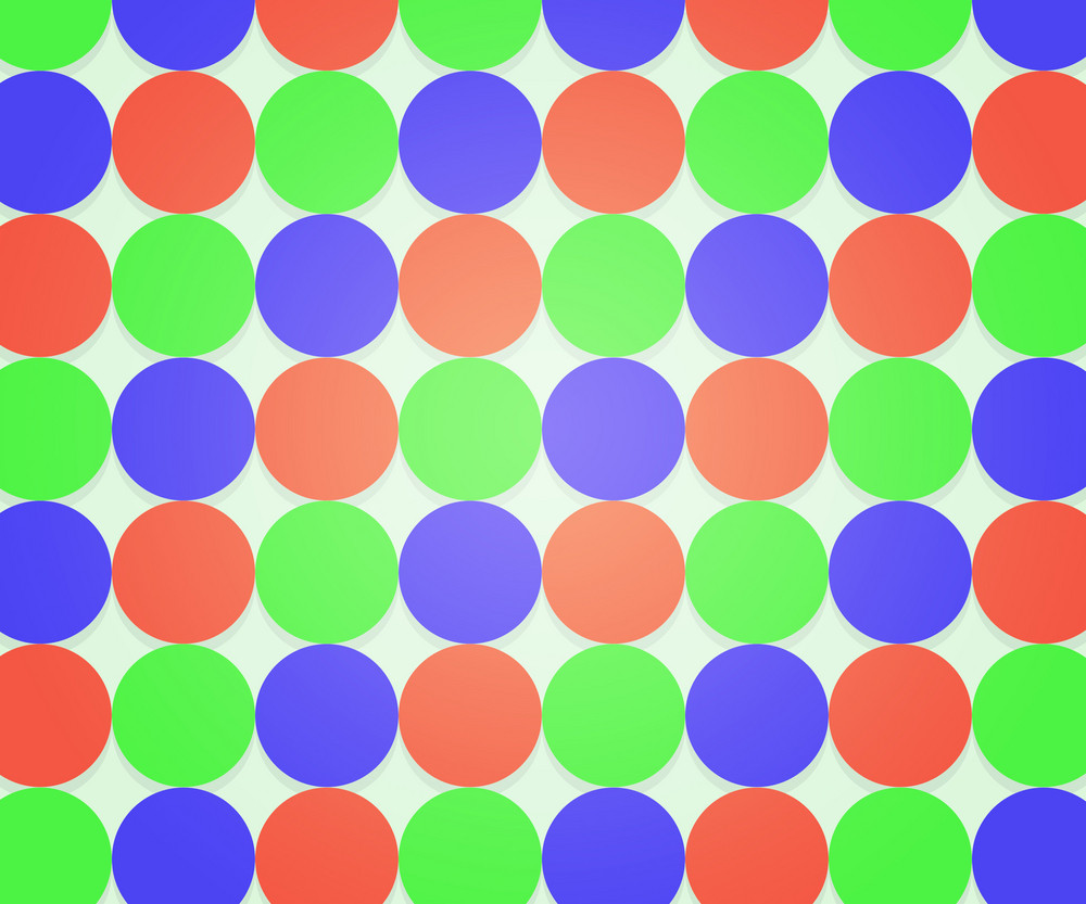 Retro Hipster Dots Texture