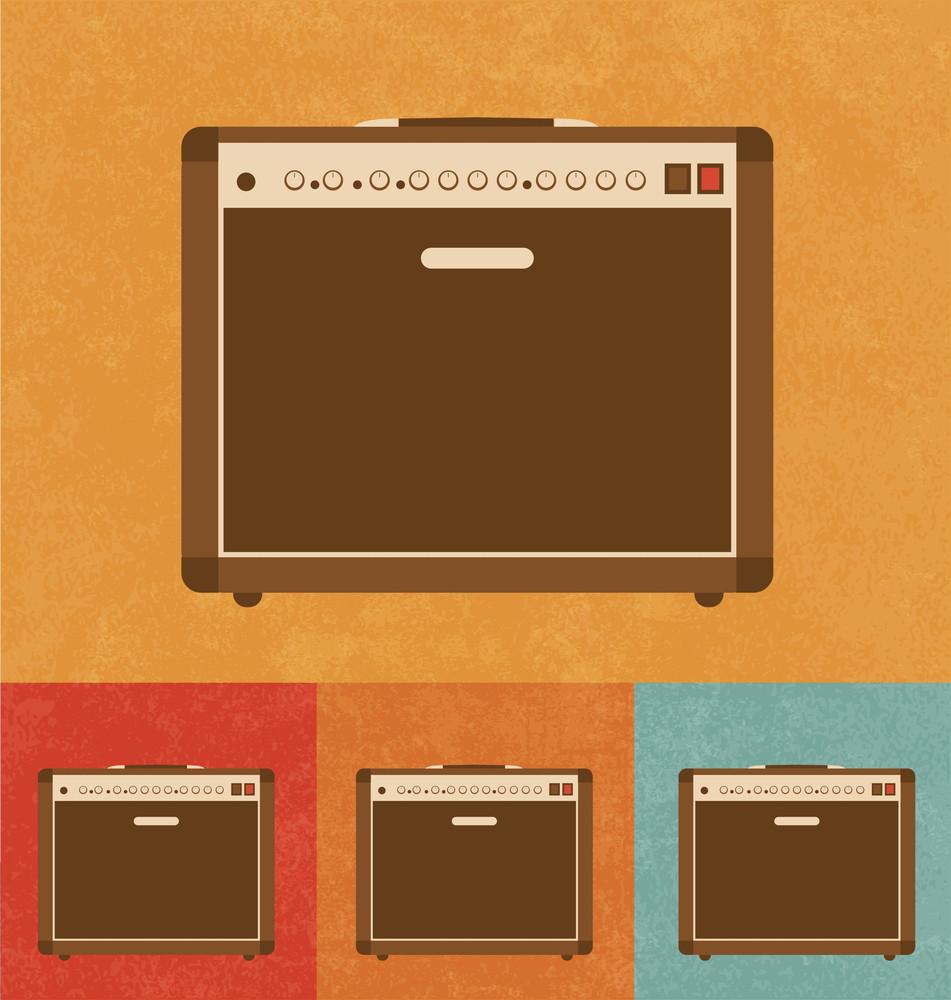 Retro Icons - Amplifier