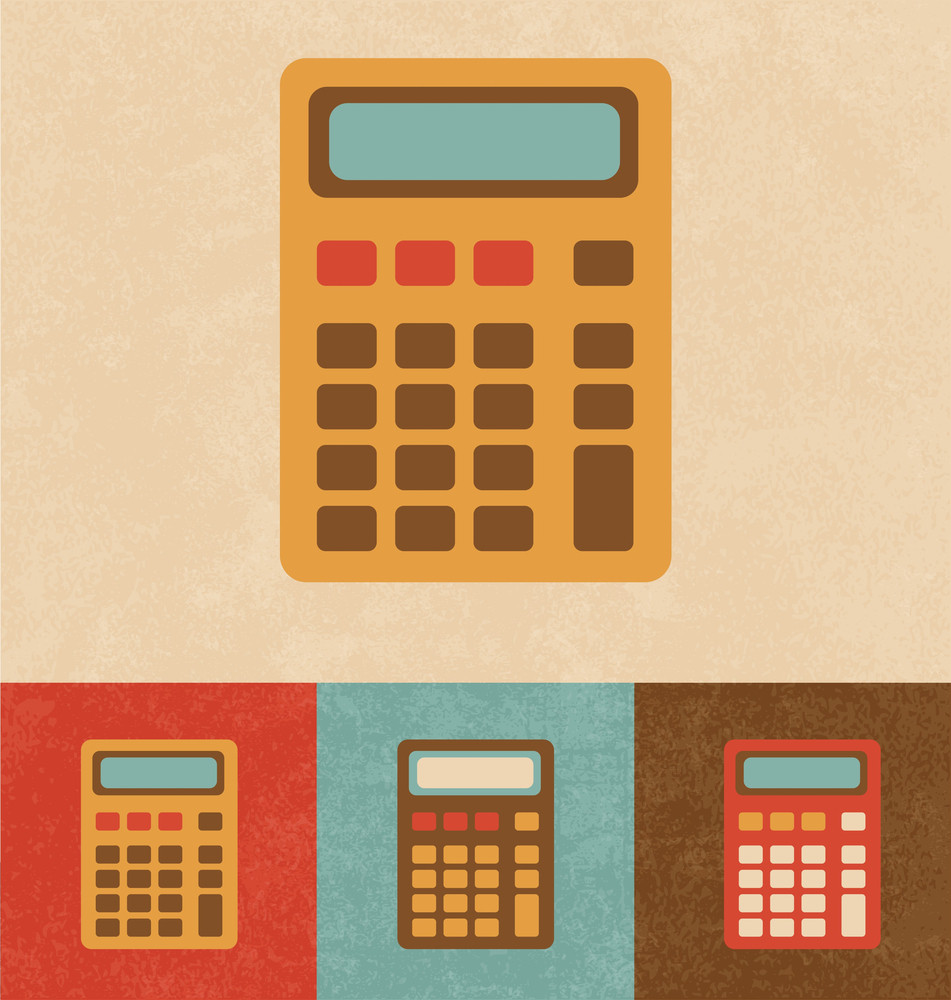Retro Icons - Calculator
