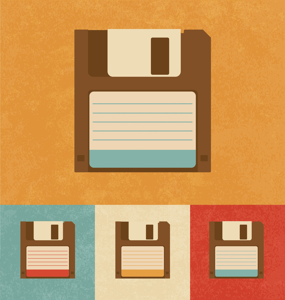 Retro Icons - Floppy Disk