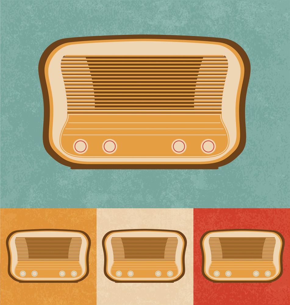 Retro Icons - Old Radio
