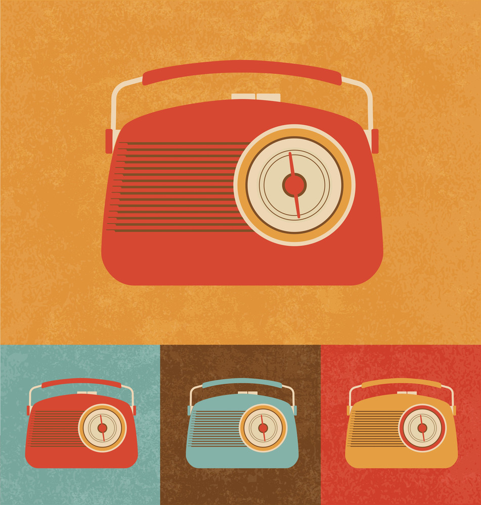 Retro Icons - Radio