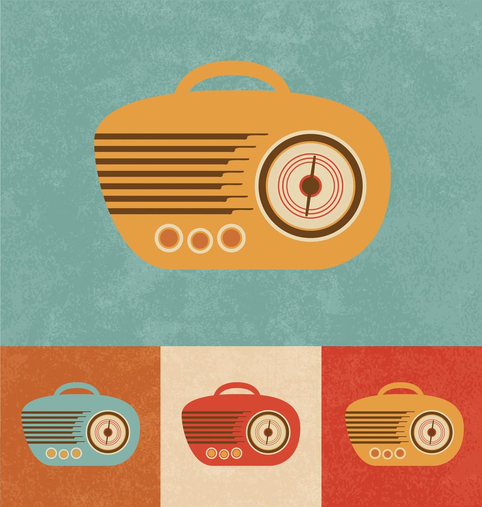 Retro Icons - Radio