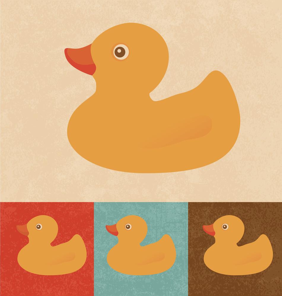 Retro Icons - Rubber Duck