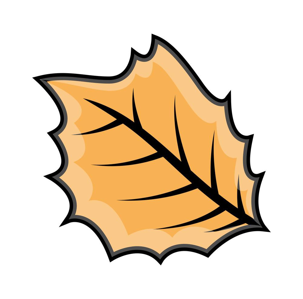 Retro Leaf Design