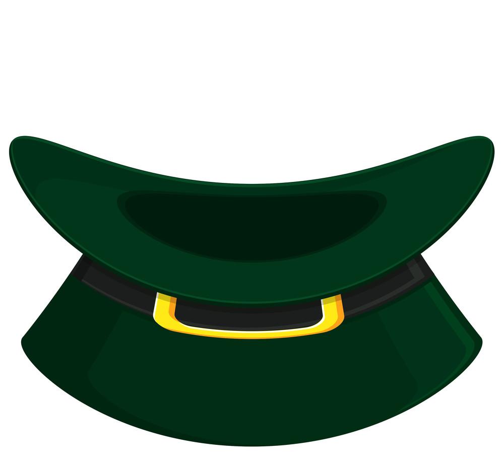 Retro Leprechaun Hat Vector Illustration
