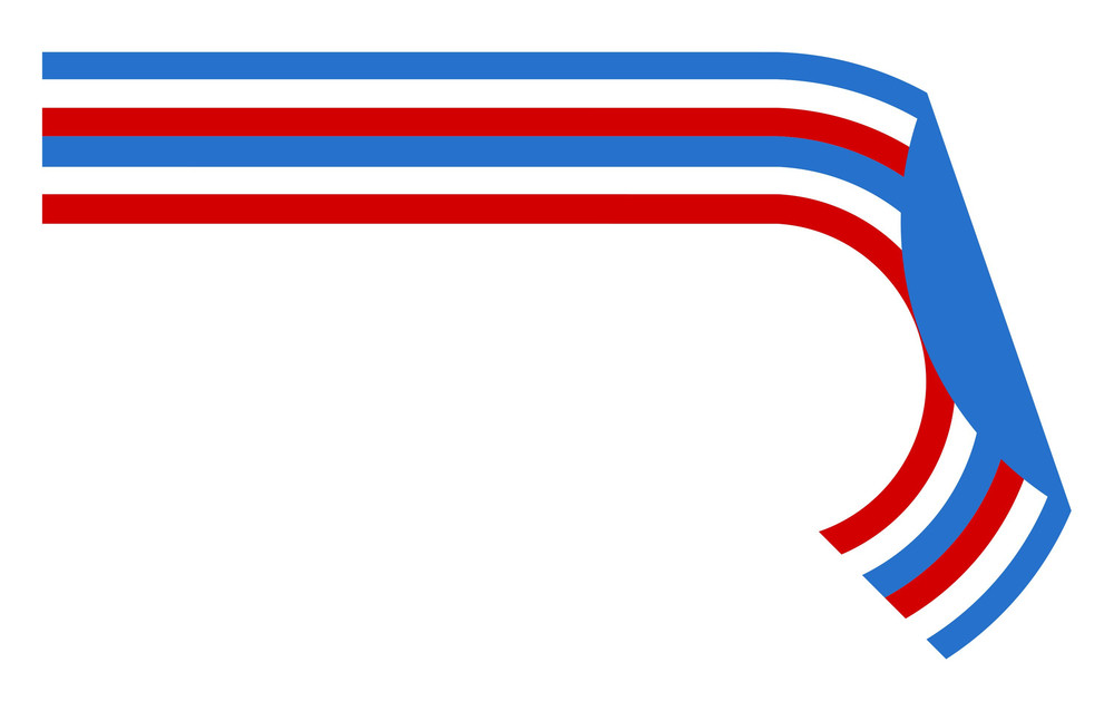 Retro Lines Usa Independence Day Vector Theme Design
