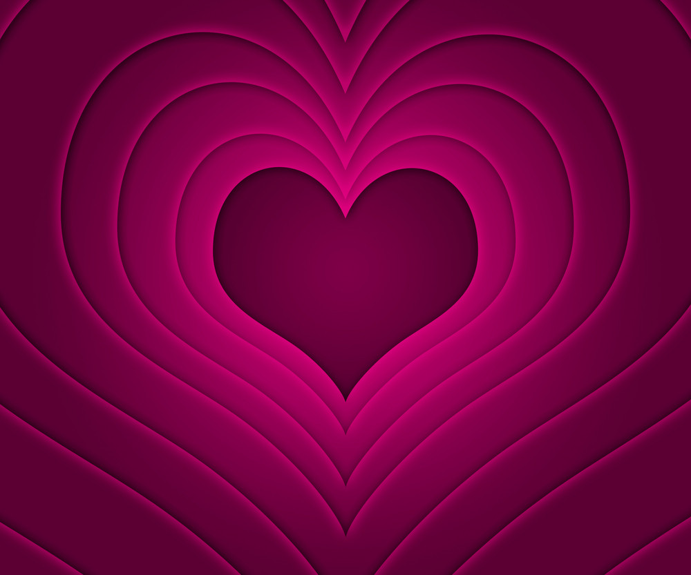 Retro Love Story Pink Background