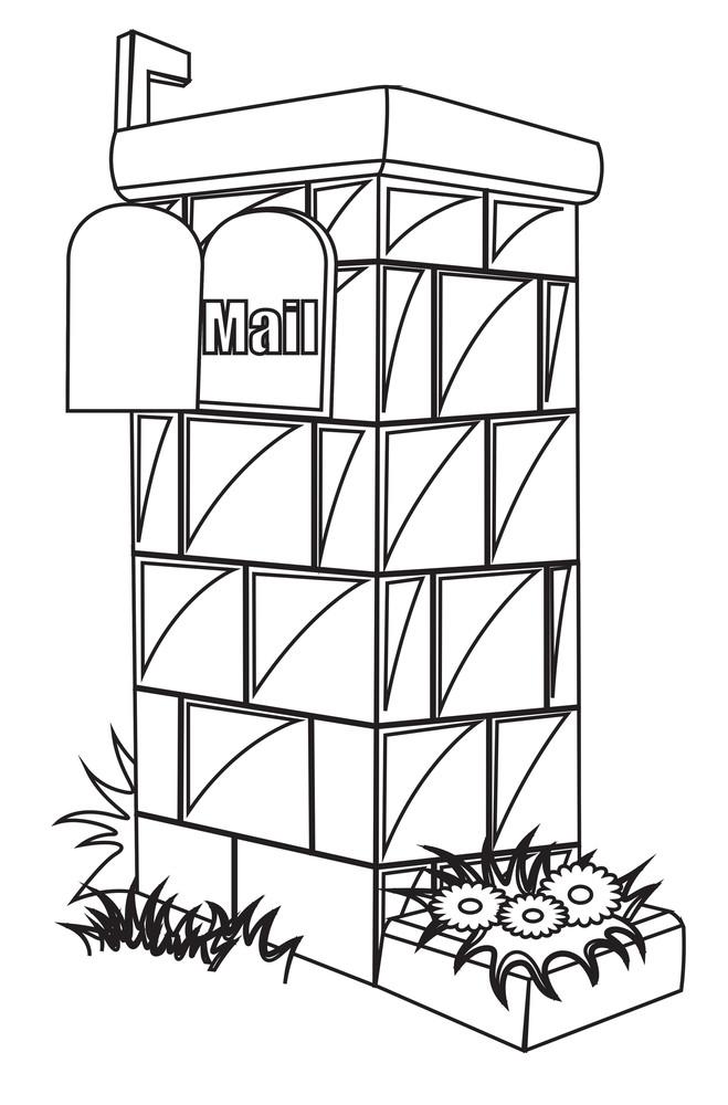 Retro Mail Box Wall Design