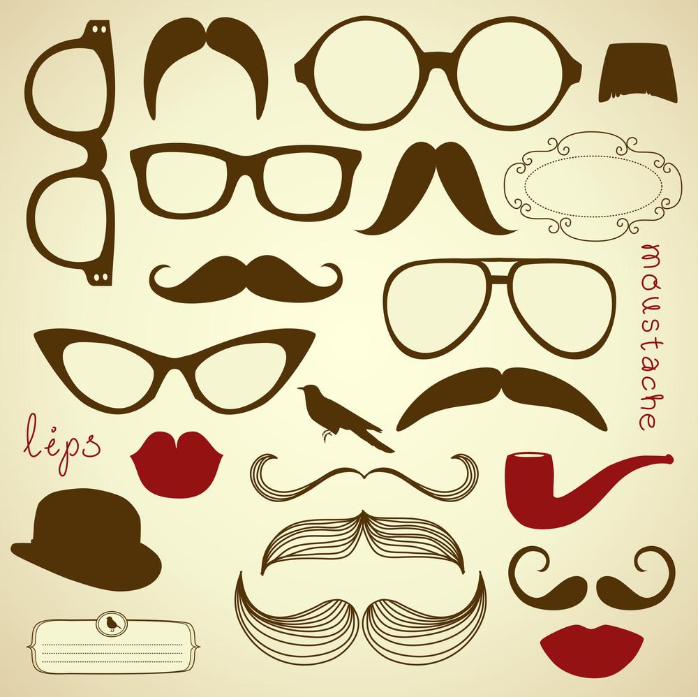 Retro Party Set - Sunglasses
