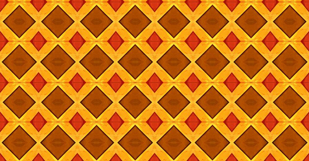 Retro Pattern Kaleidoscope
