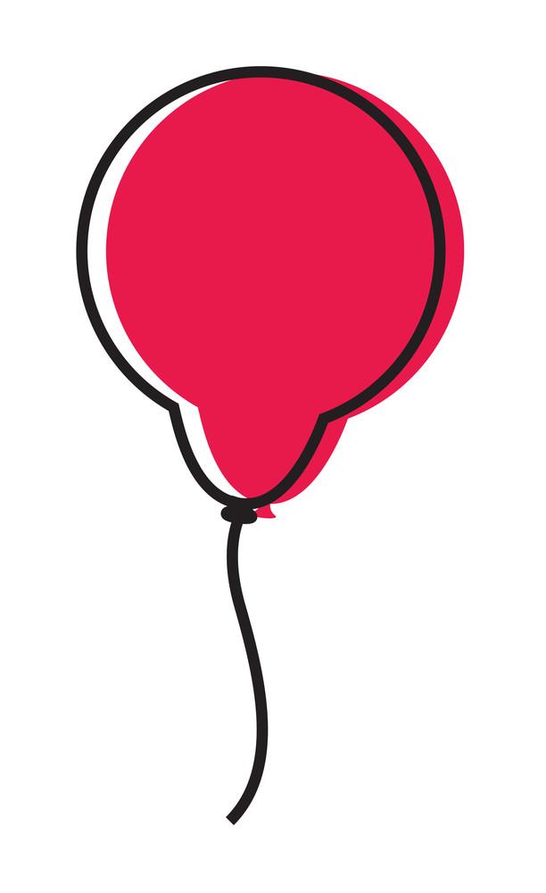 Retro Red Balloon