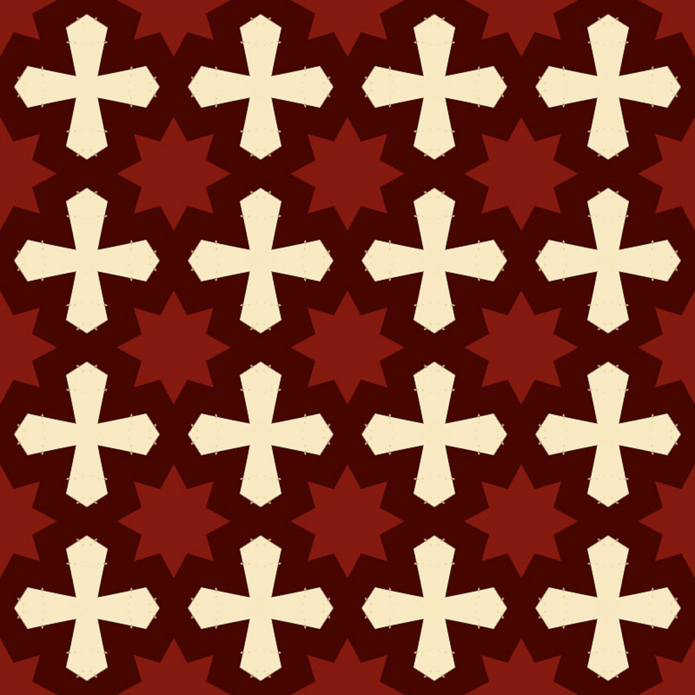 Retro Scrapbook Pattern