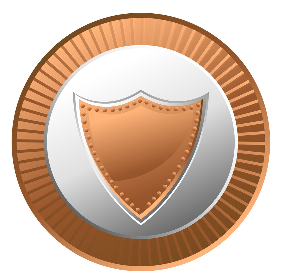 Retro Shield Coin