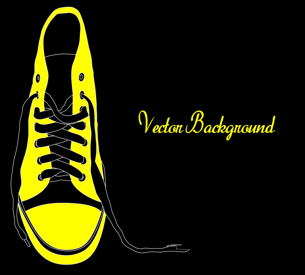 Retro Shoes Template Banner