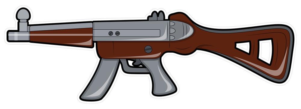 Retro Shooting Gun