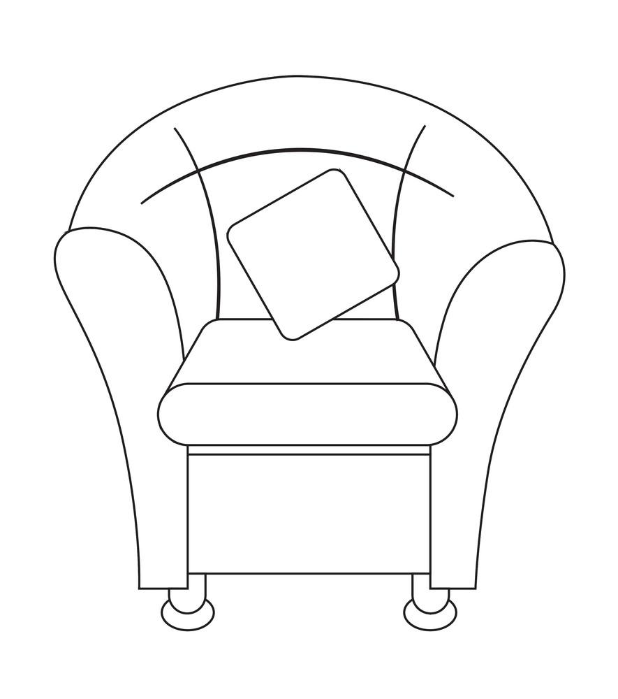 Retro Sofa Shape Design