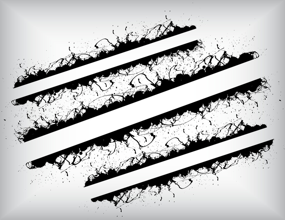 Retro Splash Banners