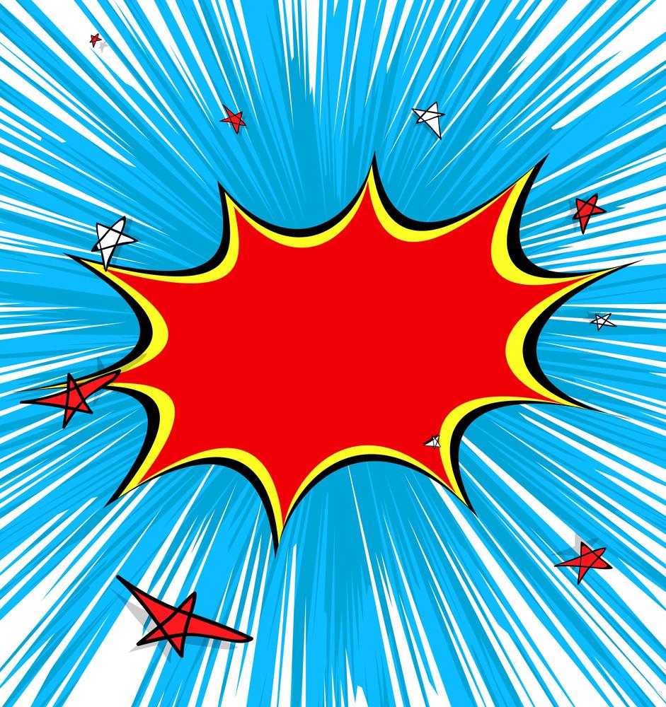 Retro Stars Banner Design