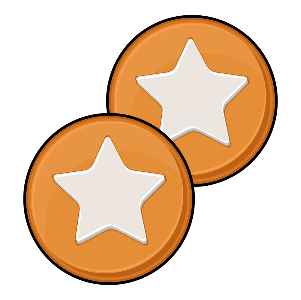Retro Stars Coins Elements