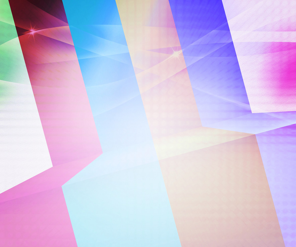 Retro Stripes Abstract Background