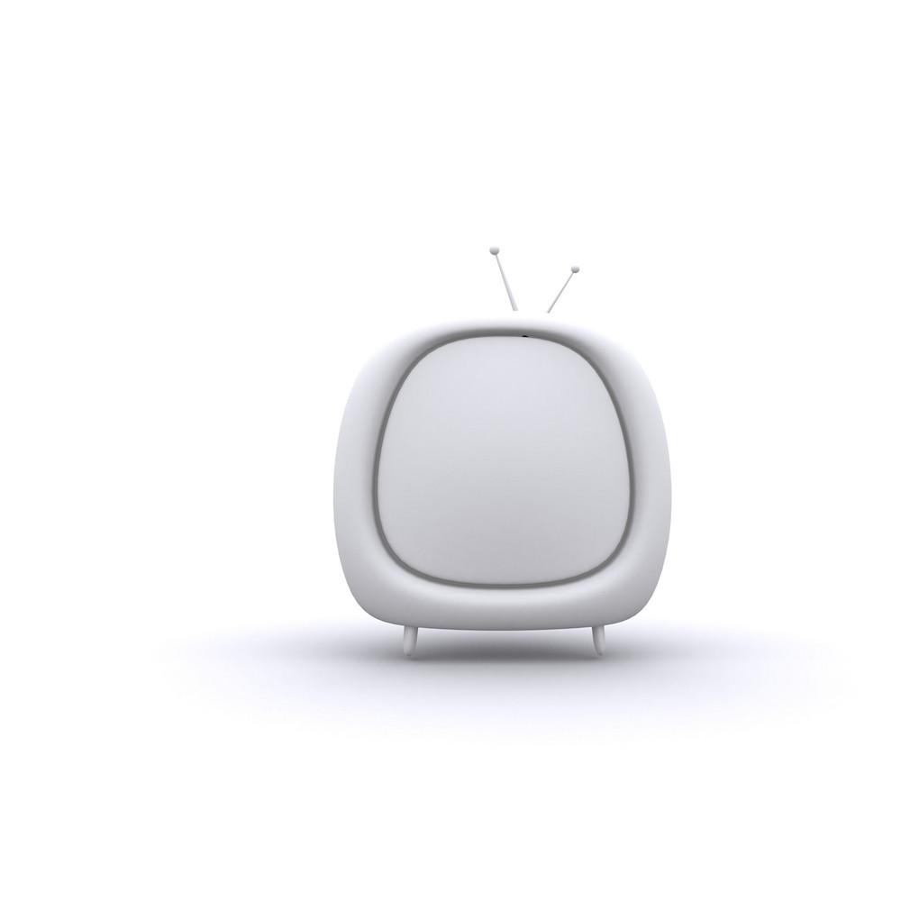 Retro Style Tv 3d Illustration