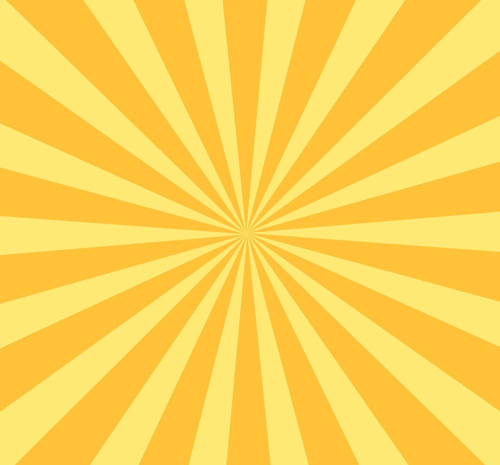 Retro Sunburst Background
