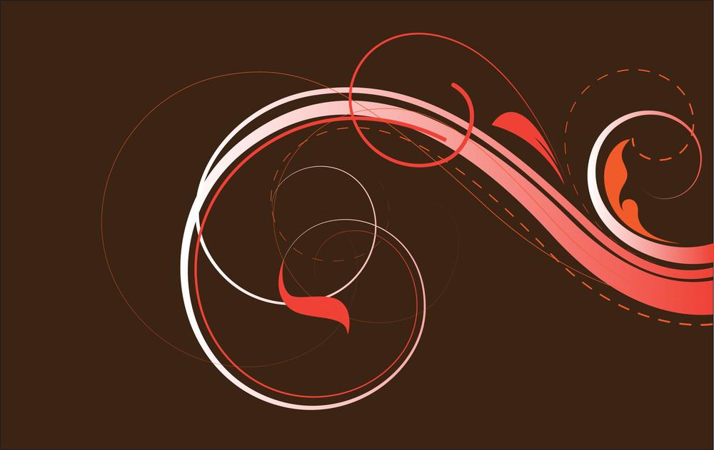Retro Swirls Background