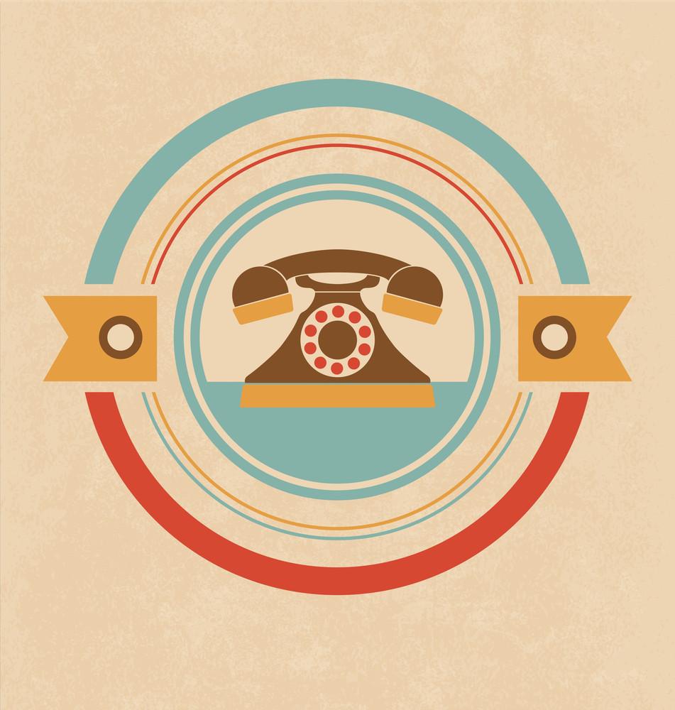 Retro Telephone Design