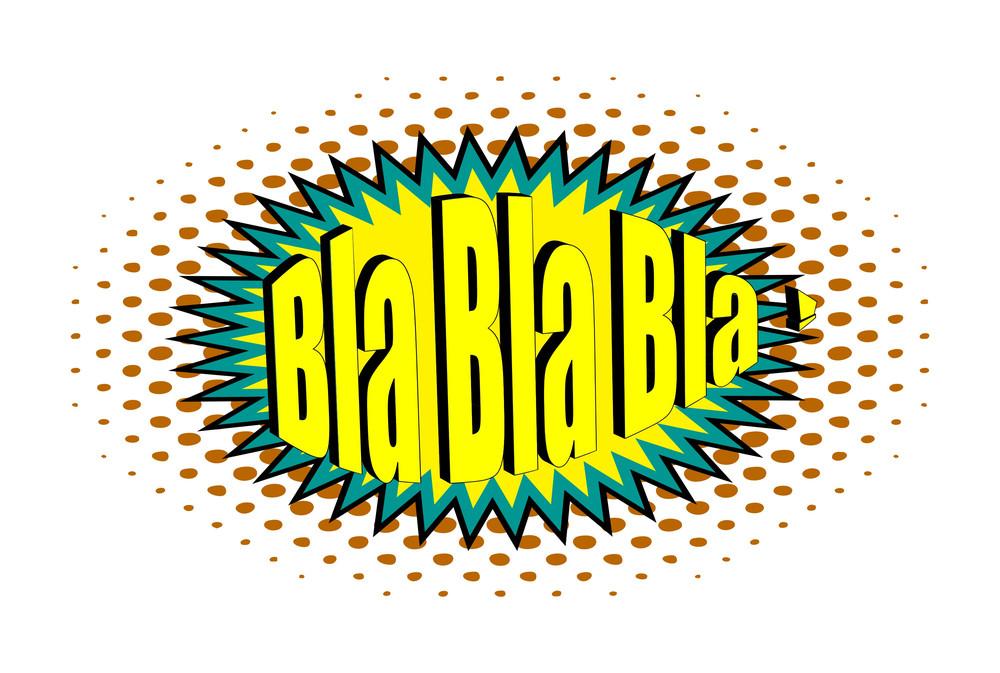 Retro Text Graphic Banner Design