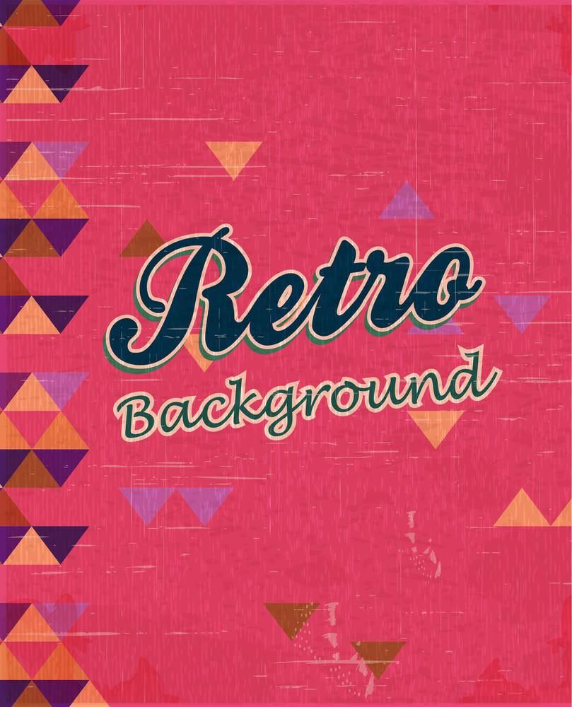 Retro Vector Illustration (editable Text)