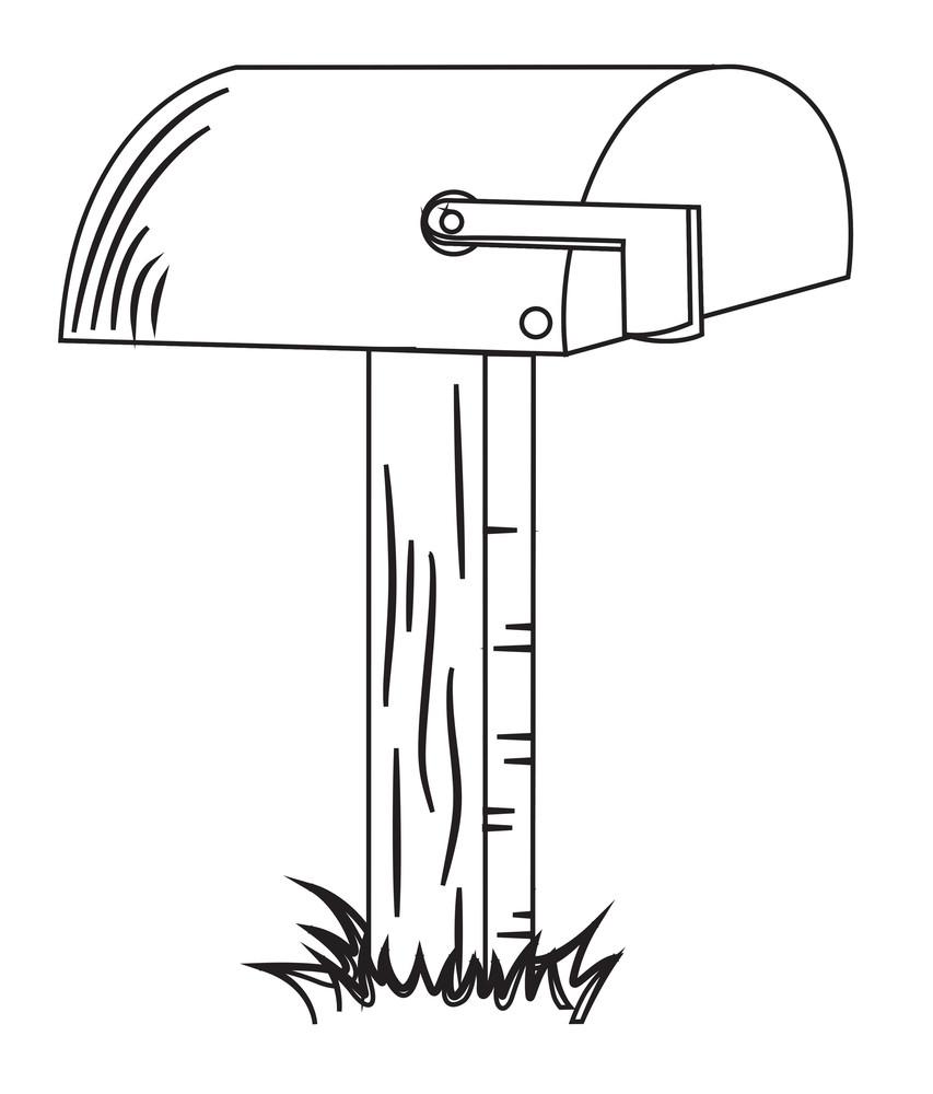 Retro Vector Letterbox Design