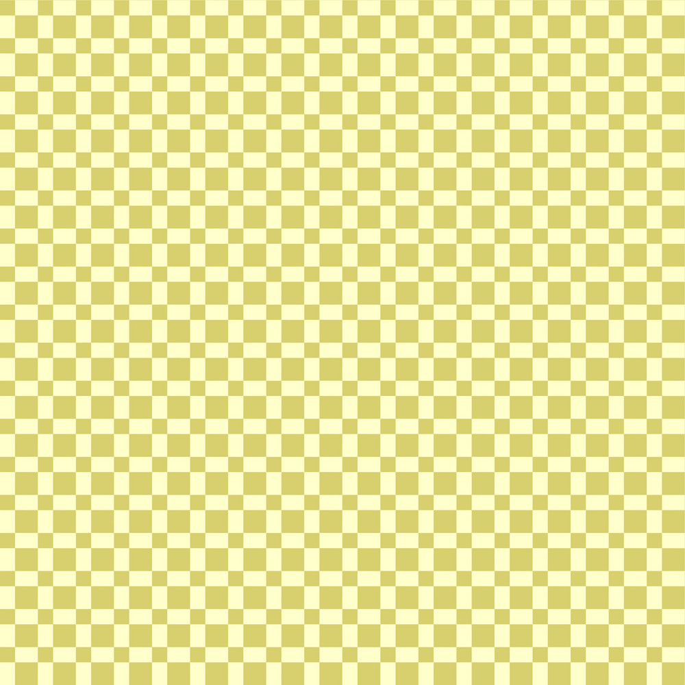 Retro Yellow And And Beige Squares Pattern