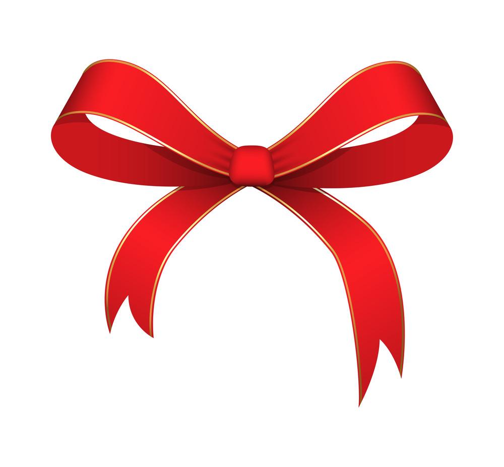 Ribbon Bow Vector Illustration