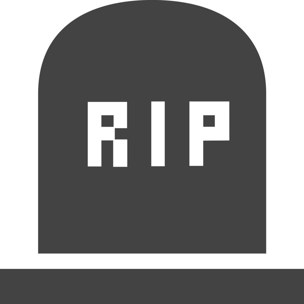 Rip Glyph Icon